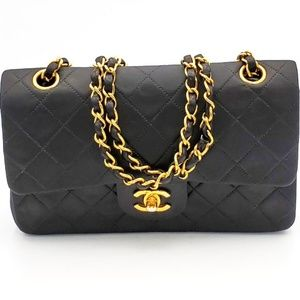 CHANEL Classic Double Flap Quilted Lambskin bag